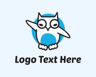 Dove - White Owl logo design