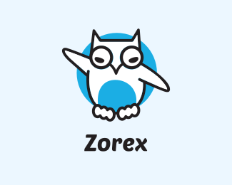 Social White Owl logo design
