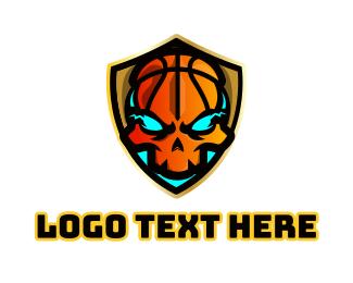 Basketball - Ghoul Basketball logo design