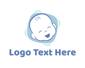Boy And Girl - Baby Boy logo design
