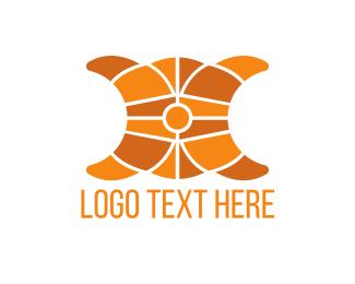 Dough - Croissant Pastry logo design