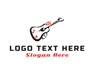Mariachi - Guitar Sound logo design
