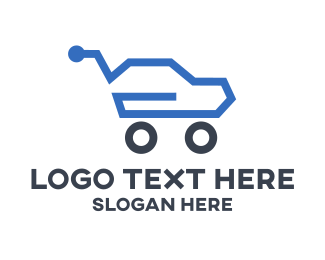Move - Auto Sales logo design