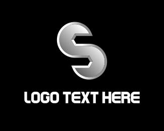 Industrial - Gear Letter S logo design