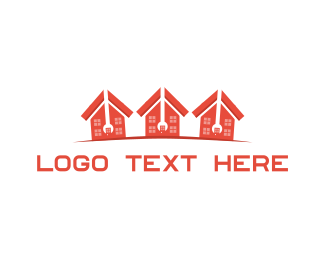 Neighborhood - House Repair logo design