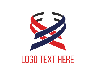 Stripes - Patriotic Ribbons logo design