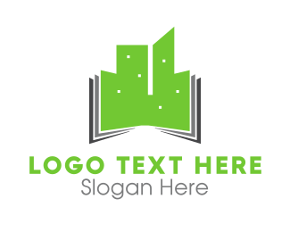 Urban - Green Buildings logo design