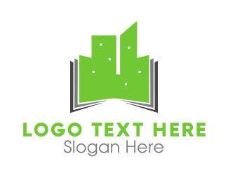 Educate - Green Buildings logo design