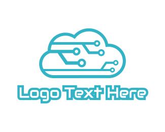 """Tech Cloud"" by LogoBrainstorm"