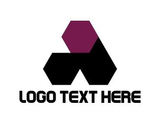 Seo - Hexagonal Letter A logo design