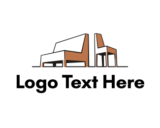 Furniture - Sofa & Chair logo design