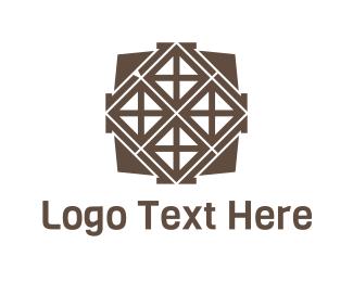Tile - Brown Tiles logo design