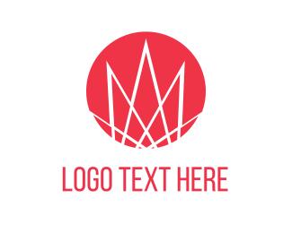 Japanese - Red Circle logo design