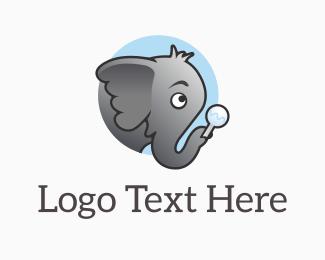Childcare - Elephant Jnr logo design
