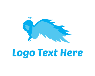 Religious - Guardian Angel logo design