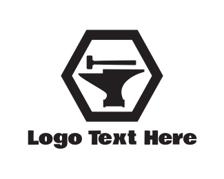 Fabrication - Anvil & Hammer logo design