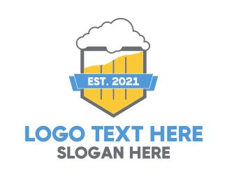 Beer - Beer Shield logo design