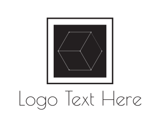 Wix - Wire Cube logo design