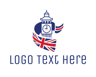 """""""Big Ben Flag"""" by town"""