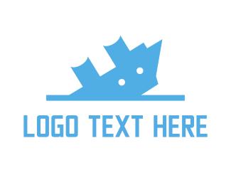 Scuba - Sinking Ship logo design