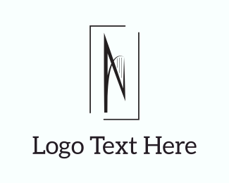 Stationery - Abstract Letter N logo design