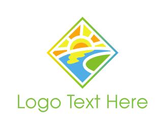 Valley - Sunny Valley logo design