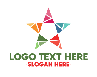 Twinkle - Colorful Star logo design