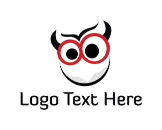 Devil - Cute Crazy Monster logo design