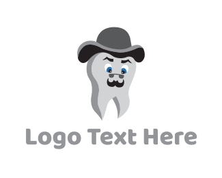 Gray - Mister Tooth logo design