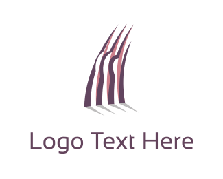 Concrete - Purple Construction logo design