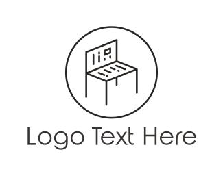 Magazine - Reading Bench logo design