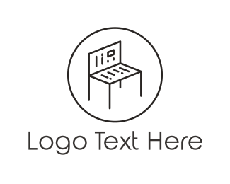 Newspaper - Reading Bench logo design