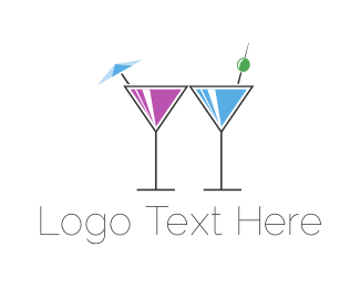 Alcoholic - Alcoholic Drinks logo design