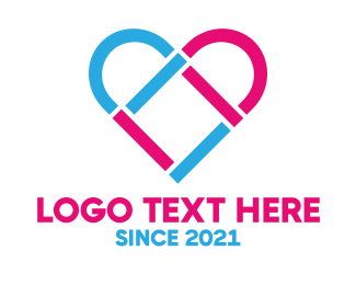 Engagement - Modern Love logo design
