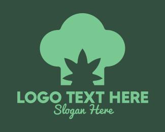 Weed - Cannabis Chef logo design