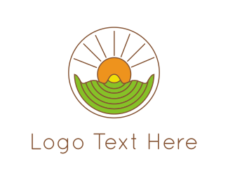 Yard - Sunshine Circle logo design