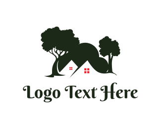 Trees - Tree Hill Houses logo design