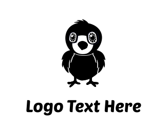Raven - Little Black Bird logo design