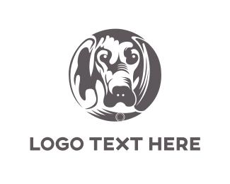 Hound - Hound Circle logo design