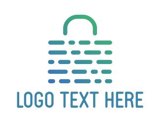 Bag - Abstract Weave Bag logo design