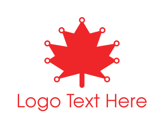 Canada - Canadian Technology logo design