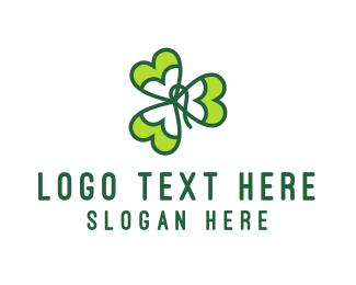 Ireland - Shamrock logo design
