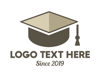 School - Graduation Box logo design