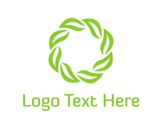 Lotion - Leaves & Diadem logo design