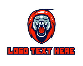 Roar - Lion Roar Gaming logo design