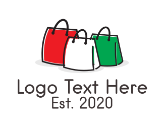 Leather - 3 Bags logo design