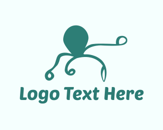 Octopus - Octopus Silhouette logo design