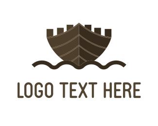 Tour - Ship Castle logo design