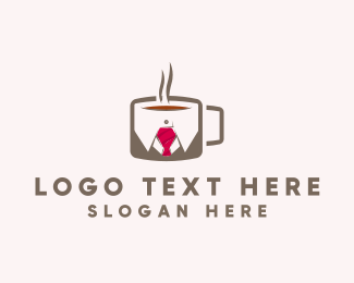 Accountant - Office Coffee logo design