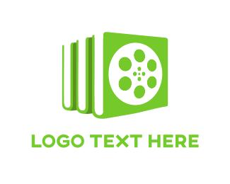 Library - Reel Library logo design
